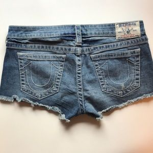 True Religion Shorts - True religion denim shorts